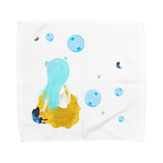ティファニーが休息を Towel handkerchiefs