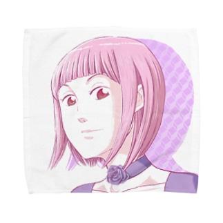 マユツバ少女 Towel handkerchiefs