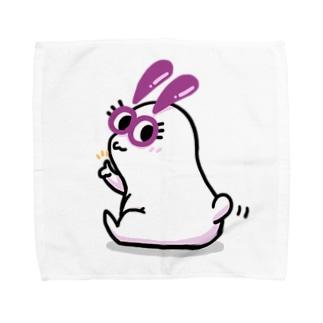 だいふくうさぎ Towel handkerchiefs