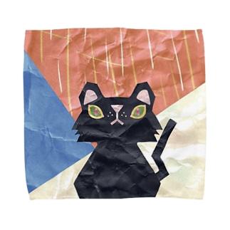 クラフト猫ロイロ Towel handkerchiefs