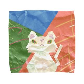 クラフト猫ウノハナ Towel handkerchiefs