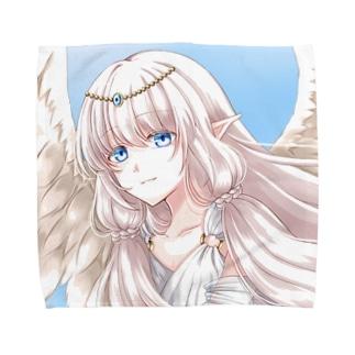 青空の天使 Towel handkerchiefs