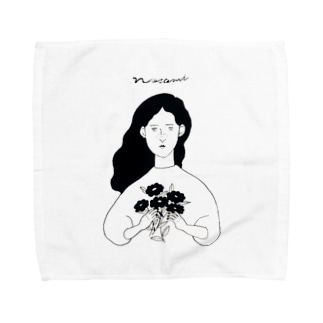 秋が来た Towel handkerchiefs