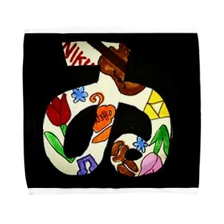 #ゐ Towel handkerchiefs