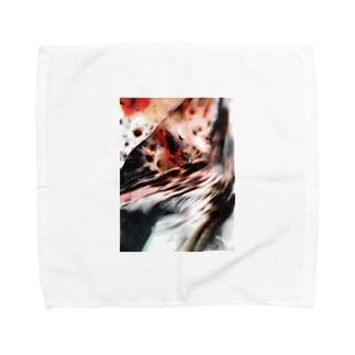 金魚季シリーズ 3 Towel handkerchiefs