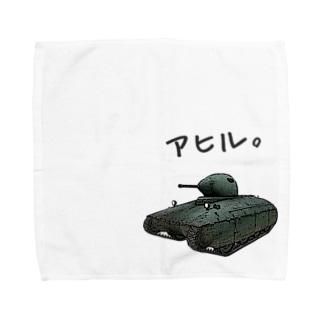 アヒルTシャツ(AMX 40) Towel handkerchiefs