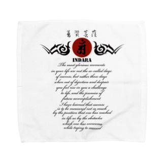 因達羅 INDARA Towel handkerchiefs