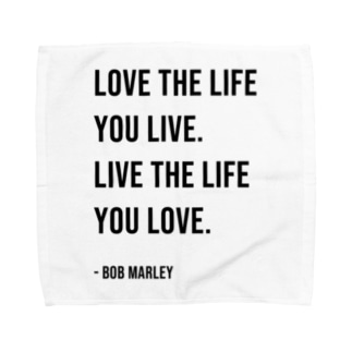 Hello BoB Marley `LOVE LIFE!!` Towel handkerchiefs