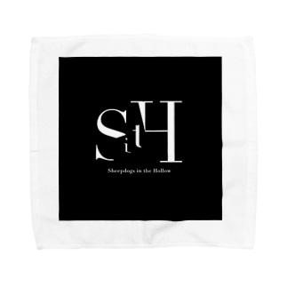 SitH LOGO(Black) Towel handkerchiefs
