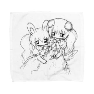 対話 Towel handkerchiefs