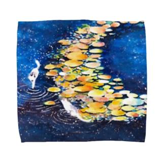 星屑パレット Towel handkerchiefs