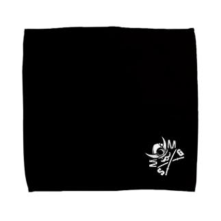 SGタオルハンカチ(ロゴ黒) Towel handkerchiefs