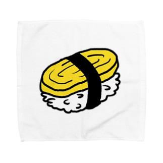 たまごのおすし Towel handkerchiefs