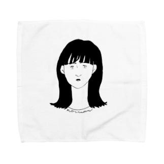 真顔 Towel handkerchiefs