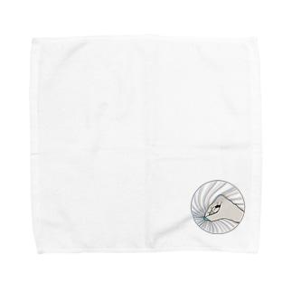 灰の手 Towel handkerchiefs