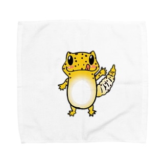 レオパイラストグッズ Towel handkerchiefs