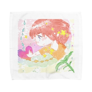 genie1ymのさつまいも Towel handkerchiefs
