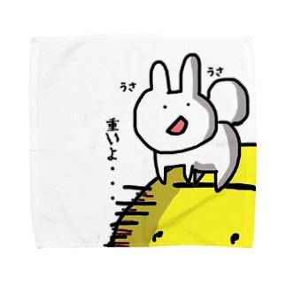 お月見うさちゃん Towel handkerchiefs
