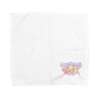 おねんね Towel handkerchiefs