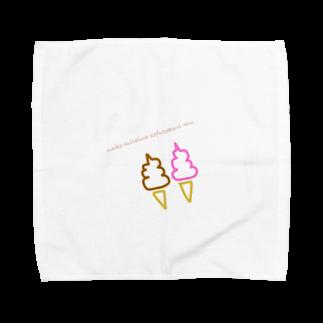 sachixxxxのunko mitaina sofutokuri-mu Towel handkerchiefs