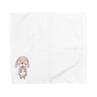 ハンギョルくんのお絵描き Towel handkerchiefs