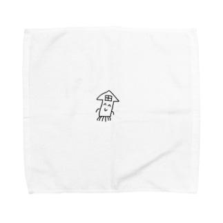 イカハウス Towel handkerchiefs