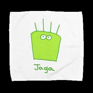 jagarinxxxのじゃが Towel handkerchiefs