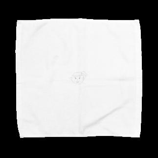 korokkeの片耳ナン Towel handkerchiefs