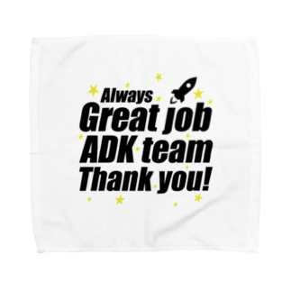MacciのGreat ADK team! Towel handkerchiefs