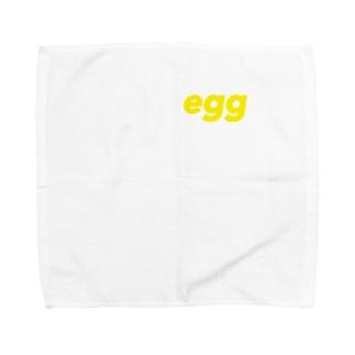 たまご Towel handkerchiefs