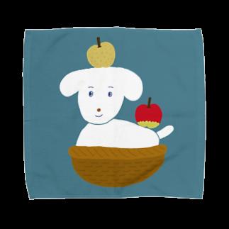 つこのおみせのりんごとなし(BL) Towel handkerchiefs