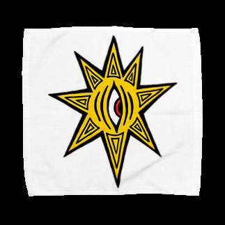 カイカイの出店のきいろちゃーん!グッズ Towel handkerchiefs