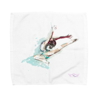 lilli-starling dépayséeの新体操ガール ジャンプ アクセサリー Towel handkerchiefs