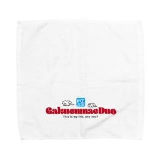 学園前Duo フルカラーロゴ Towel handkerchiefs