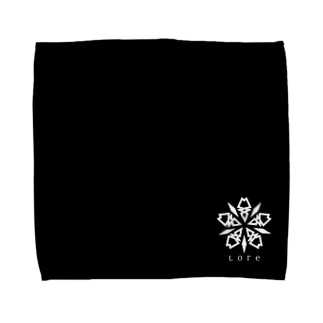 Lore(WHITE) Towel handkerchiefs