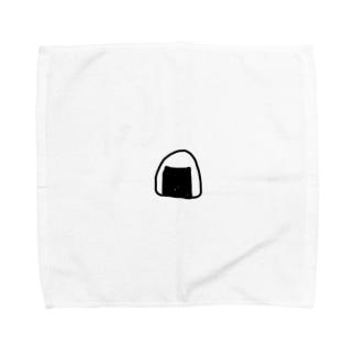 onigiri(お腹空いた気持ちでver.) Towel handkerchiefs