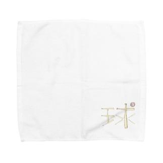 sakura-filmsのバットで描いた球 Towel handkerchiefs