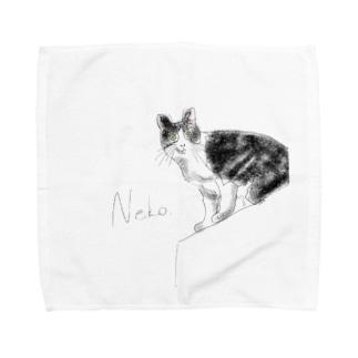 Neko. Towel handkerchiefs