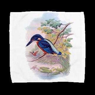 dohshinのカワセミ Towel handkerchiefs