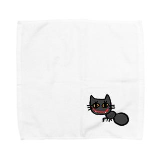 nyakkiのありねこ Towel handkerchiefs