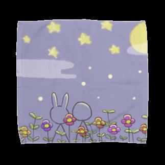mokumoのお月見 Towel handkerchiefs