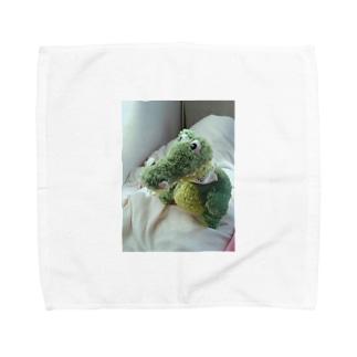 わにのすけ Towel handkerchiefs