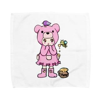 Suzuki Satomi のベアミちゃん Towel handkerchiefs