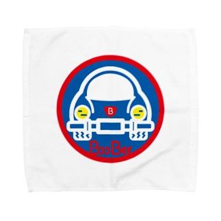 原田専門家のパ紋No.3403 BooBee  Towel handkerchiefs