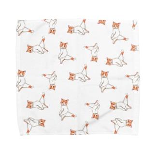 にゃんグラム Towel handkerchiefs