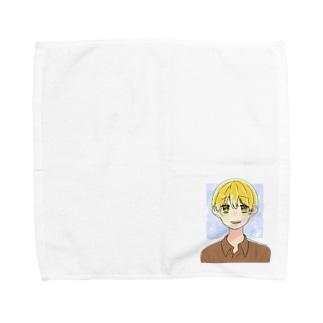 花房真樹 Towel handkerchiefs