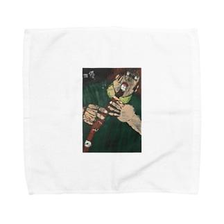 shibatayuuの自画像 Towel handkerchiefs