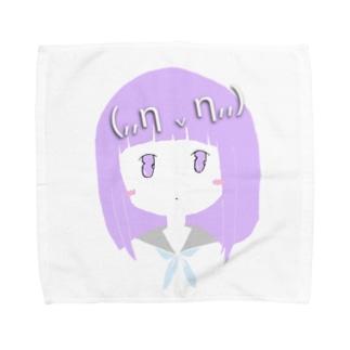 (,,η v η,,)Miwa Kurumi Towel handkerchiefs