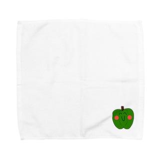 頑張れピーマン之助 Towel handkerchiefs