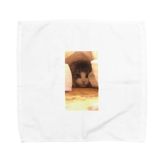 japonitaのつめちゃん Towel handkerchiefs